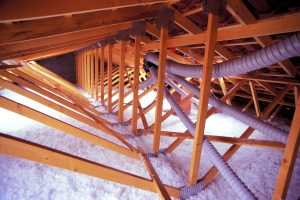 roof insulation is important. Blown Insulation