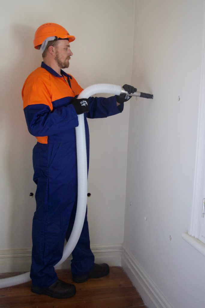 Adding Insulation to walls